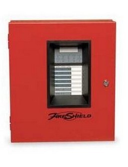 Edwards EFSC502R 5 Zone Panel Fire Shield Red