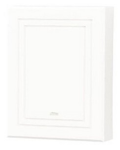 Broan-Nutone LA100WH Decorative Wired Two-Note Door Chime, White Finish