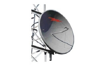 Commscope PL10F-25-N7A 3.0 m | 10 ft Standard Parabolic, Low VSWR Unshielded Antenna, single-polarized, unpressurized, 2.480-2.700 GHz, N Female, gray antenna, with flash, standard pack - one-piece reflector