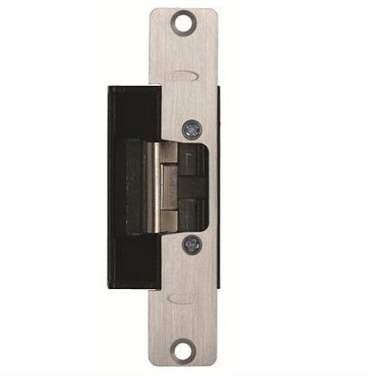 Rutherford Controls L6505X32D 6 Series Heavy Duty Electric Strike, Brushed SS, AL/Wood Frame