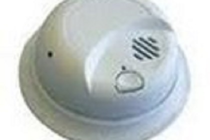Sperry West SW2250ABTR Black/White Smoke Detector Camera With Tranmtr And Receiver